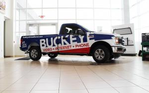 Buckeye Truck Wrap