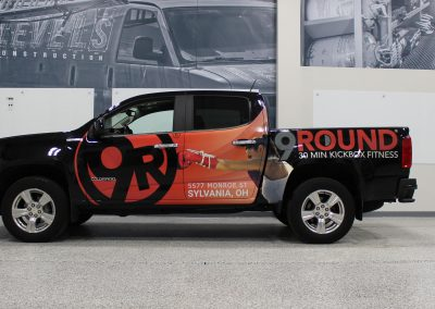 9 Rounds Truck Graphics Wrap