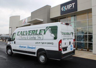 Calverley Van Wrap
