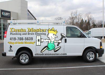 Drain Master Van Wrap Graphics