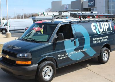 EQUIPT-Graphics_Pro-Remodelers-Home-and-Garden-Show_Chevy-Express-Van-Wrap