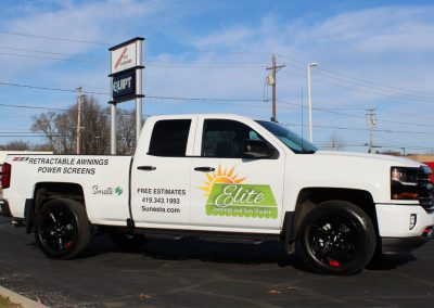 Elite Truck Graphics Wrap