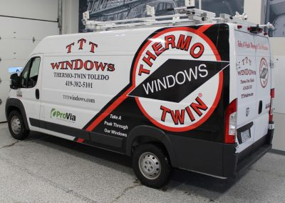 Thermo Twin Windows Van Wrap
