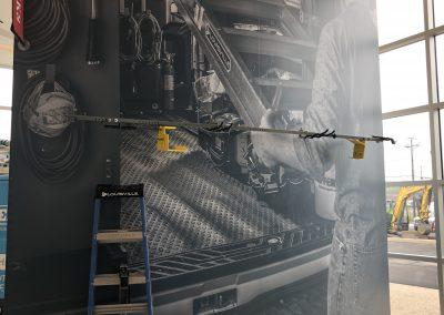 EQUIPT wall mural architectual van interior
