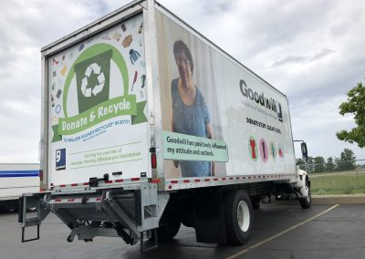 Goodwill Truck Graphics