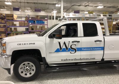 Wadsworth Solutions Graphics for Pickup Truck