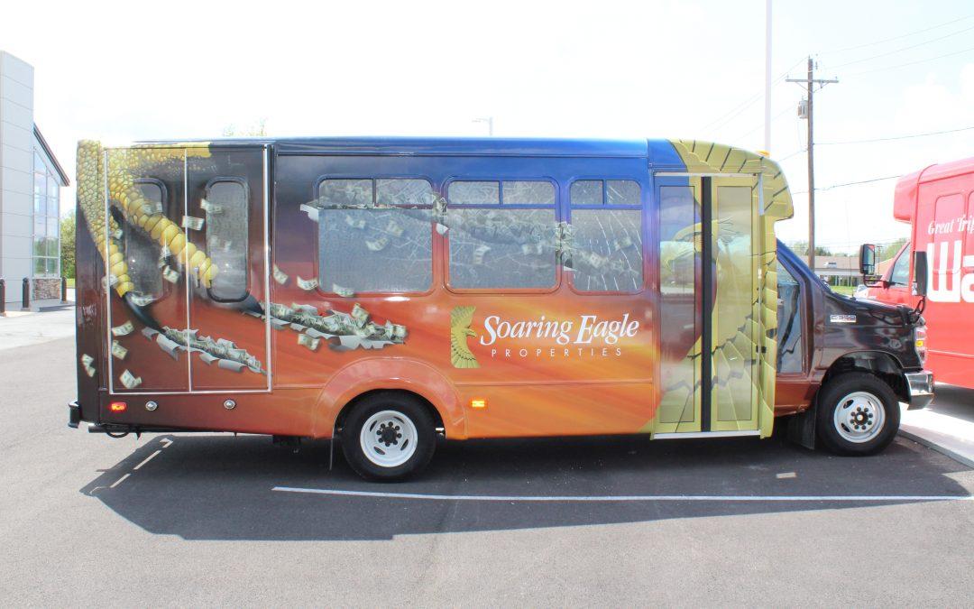 Soaring Eagle Complete Van Wrap
