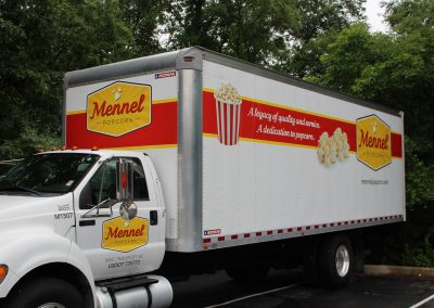 Mennel Box Truck Graphics
