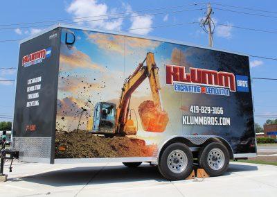Klumm Bros Trailer Wrap Graphics