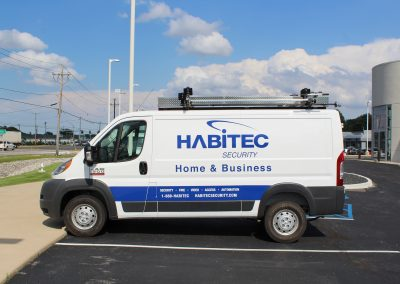 Habitec Security Van Graphics