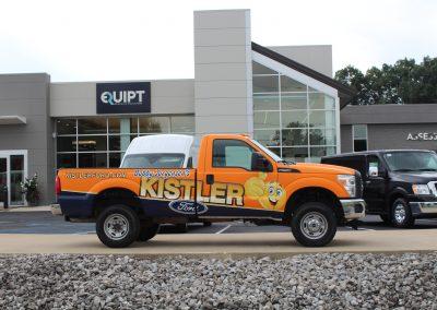 Kistler Pickup Truck Wrap