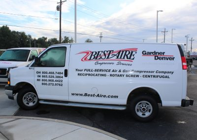 Best Aire Van Graphics Wrap