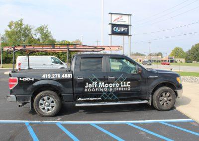 Jeff Moore LLC Custom truck graphics