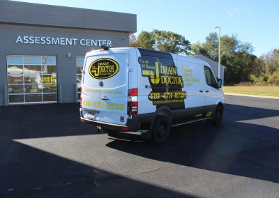Drain Doctor Van Graphics Wrap