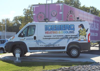 Iceberg Van Graphics Wrap