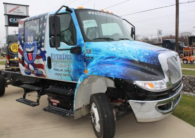 EverDry Truck Graphics Wrap