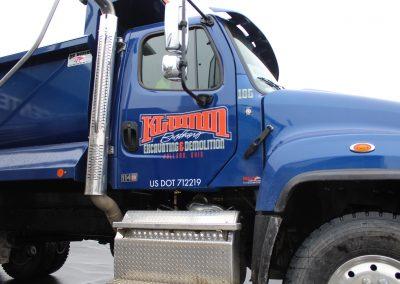 Klumm Truck Door Decal Graphics