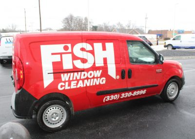 FISH Window Van Wrap