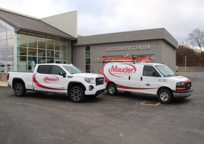Mauder Custom Truck and Van Decal