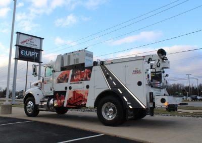 Utility Truck Custom Graphics