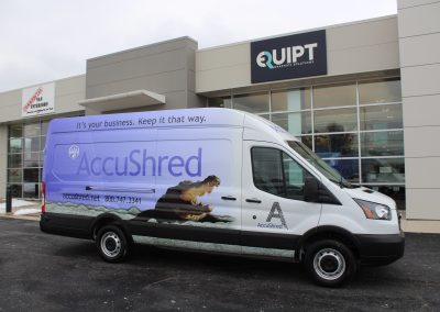 AccuShred Van Wrap