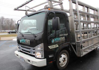Interstate Glass Truck Graphics