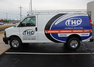 THC Van Graphics Wrap